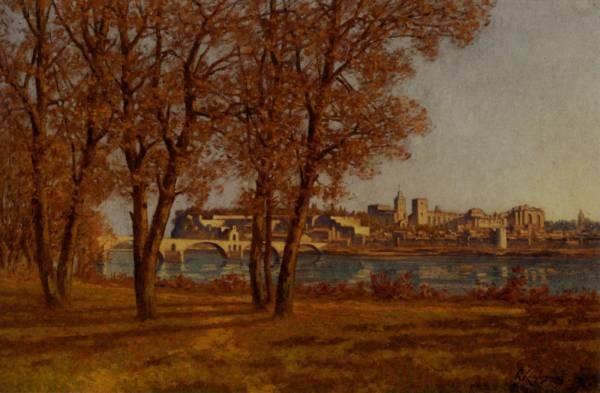 Le Chateau Des Papes A Avignon